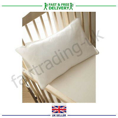Cot Bed Pillow Quilted Anti Allergy Baby Toddler Bedding Kids Junior