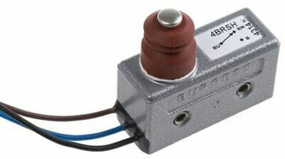 SPDT Plunger Microswitch, 15 A @ 250 V ac