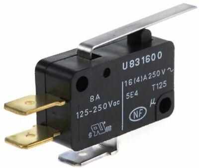 SPDT Lever Microswitch, 16 A @ 250 V ac