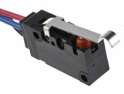 SPDT-NO/NC Simulated Roller Lever Microswitch, 5 A @ 250 V ac
