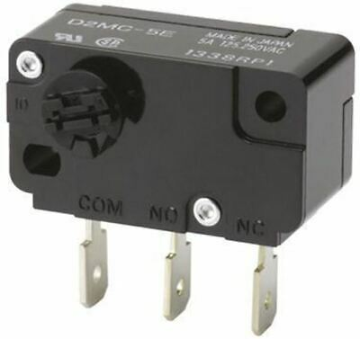 SPDT-NO/NC Rotary Microswitch, 500 mA @ 30 V dc