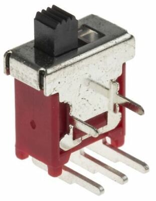 AC 125V 6A Single Pole Double Throw SPDT On//On Toggle Switch 5 Pcs K9W7