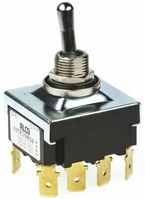 TE Connectivity 4PST Toggle Switch, Latching, IP67
