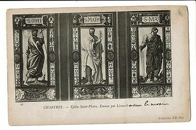 CPA-Carte postale-FRANCE   Chartres - Eglise St Pierre Emaux- S2827
