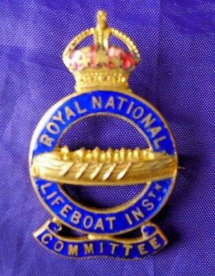 Obsolete British Royal National Lifeboat Institution Badge - Committee (Member).