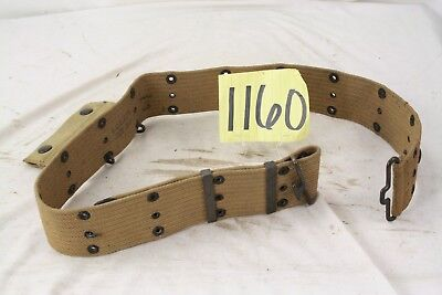 Ww1 Us Pistol Belt 1918 Dated With 1917 Dated Medic Pouch 36X2 In