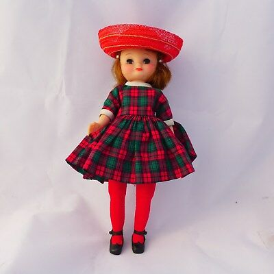 VENTAGE 1959 BETSY Mc CALL DOLL WITH ALL ORIGINAL CLOTHING AND BARRETTES