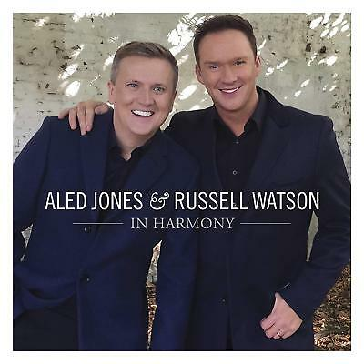 Aled Jones & Russell Watson In Harmony Cd - New Release November 2018