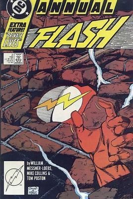 DC Comics Flash Annual #2 1988 NM First Printing