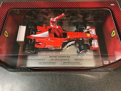 Hot Wheels Mattel F-2002 M. Schumacher World Champion