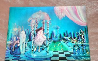 UNUSED VTG 1960'S LENTICULAR 3D DISNEY POSTCARD (Not sure which Princess!)