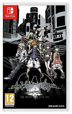 The World Ends With You: Final Remix Nintendo Switch Game 12+ Years