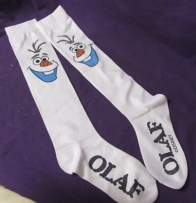 Disney Frozen Olaf stretch girls socks