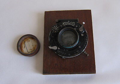 Antique Koilos Camera Frame and Lens