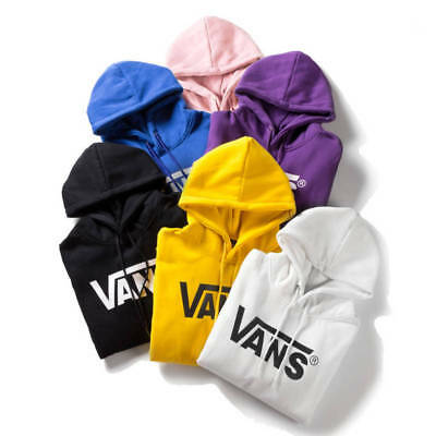 2018 Van Solid color Couple sweater Hoodie Pullover Long-sleeved Sweater M-2XL