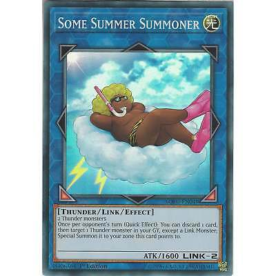 Yu-Gi-Oh! TCG: Some Summer Summoner - SOFU-EN049 - Super Rare Card - 1st Edition
