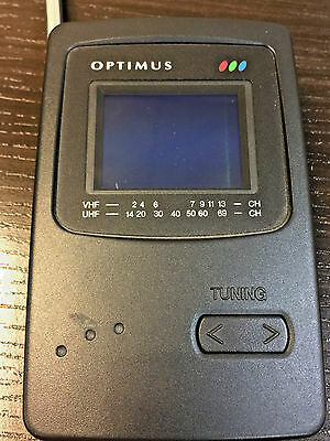 Vintage Optimus 2.2'' Color Pocket LCD TV Cat.No.16-175 Portable Television