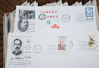 18 of 50 All Pictured Collection 411 Canada First Day Covers