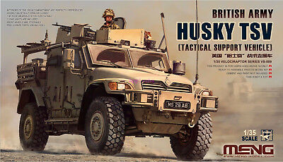 Meng Model 1/35 VS-009 British Army Husky TSV (Tactical Support Vehicle)
