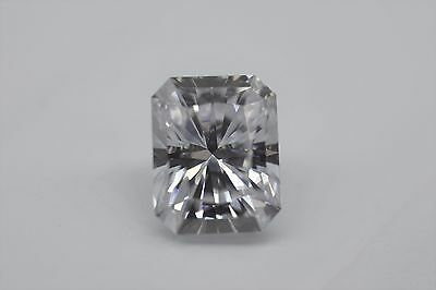 Charles and Colvard Forever One GHI Moissanite 6X4mm Radiant With Certificate