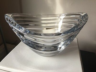 VINTAGE LENOX OVATIONS~AZAR~10 INCH CRYSTAL BOWL~w BOX~RETAIL $100