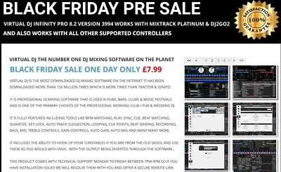 VIrtual DJ Pro Infinity 8.3Latest Version Works With All Supported Controllers