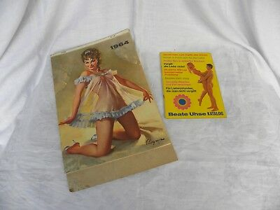 alter Pin Up Kalender 1964 und Extra