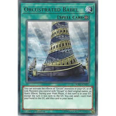 Yu-Gi-Oh! Orcustrated Babel - SOFU-EN057 - Rare Card - 1st Edition - Soul Fusion