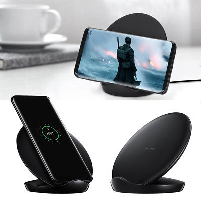 Samsung Qi Induktive Ladestation Wireless Charger Galaxy S7 Edge S8 S9 S10 Plus
