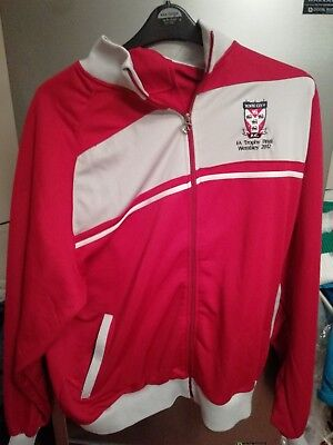 York City FC 2012 FA Trophy Tracksuit Top v Newport County XXL Replica