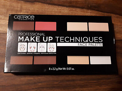 Catrice ~ Face Palette ~ Contouring / Concealer / Highlighter / Blush~ 8 x 2,2 g