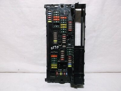 11-12-13-14-15  Bmw 5 Series/535/   Front/ Power/ Distribution/ Fuse/ Relay/ Box