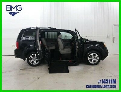2015 Honda Pilot EX-L Handicap Accessible Lowered Floor Wheel Chair Ramp SUV Wheelchair Conversion Loaded Only 12K Miles Warranty Modified Chassis 1 Owner