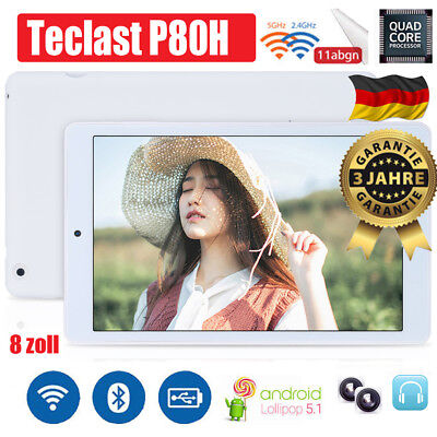 Teclast P80H 8 Zoll PC Tablet Android QuadCore GPS 2X WIFI 1280x800 HDMI Phablet