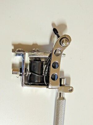 Spaulding Rogers Puma  With Contact Point Spring Tattoo Machine - Gun