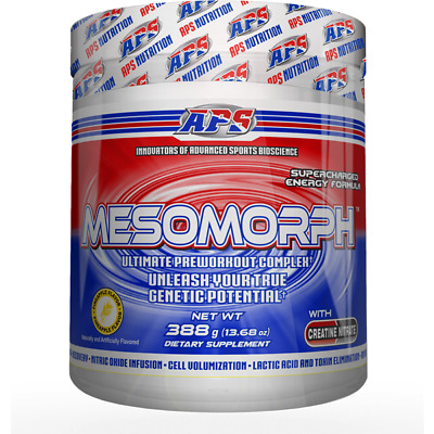 Mesomorph Pre-Workout - Pineapple - 25 Servings By APS Nutrition