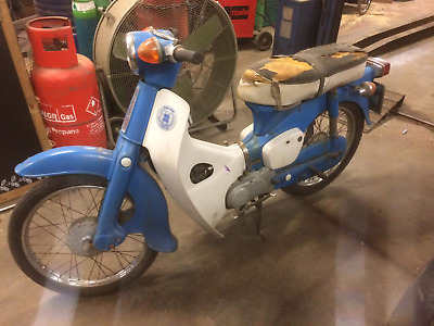 Honda c50 1974 barn find