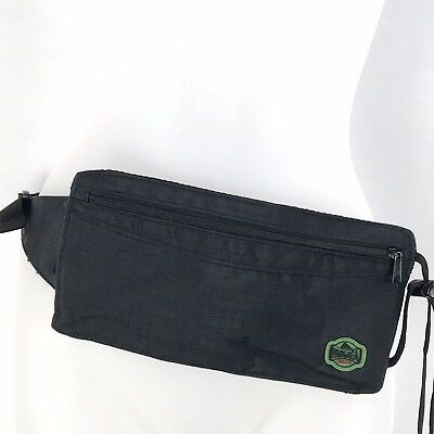 Pangaea Kelty Ultra Thin Pouch Crossbody Convertible to Hip Pack Black Zip Hike