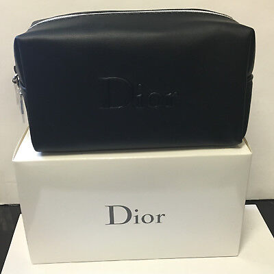Dior Black Trousse Pouch Perfect for makeup