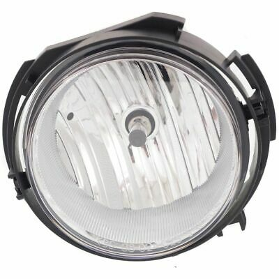 Car & Truck Parts Clear Lens Fog Light For 2000-11 Freightliner Columbia LH or RH CAPA w/ Bulb