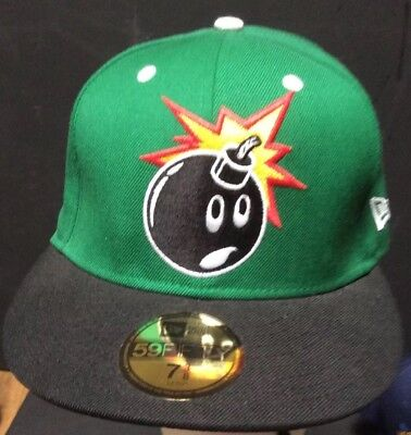 c4f79c95b72 ... The Hundreds New Era 59Fifty Forever Adam Bomb Black Fitted Hat - 7 38  buy popular ...