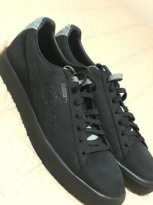 (Rare) Puma Clyde X En Noir Supreme Size 10.5 Limited Supreme Fashion BLACK  d08b0b745