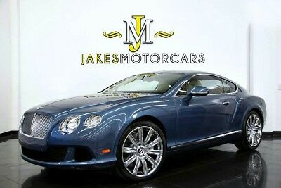2014 Bentley Continental GT W12 Coupe ($218,360 MSRP)...ONLY 7500 MILES! 2014 CONTINENTAL GT W12~ ONLY 7500 MILES ~ BLUE CRYSTAL ON MAGNOLIA~ 1-OWNER!