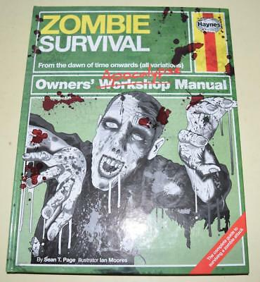Zombie Survival Manual: The Complete Guide [2003] Hardback *Excellent Condition*