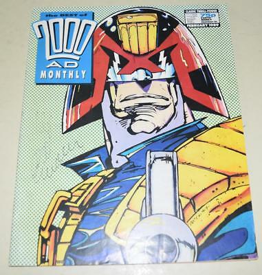2000 AD Comics Best of Monthly February 1989 Judge Dredd {Paper Comic] *EXC Cond