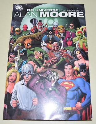 DC Universe The Stories Of Alan Moore (DC Comics) Paperback Graphic Novel *EXC*