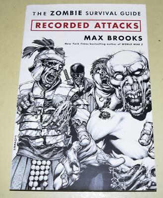 Recorded Attacks (Zombie Survival Guide) Max Brooks Graphic Novel *Excellent Con