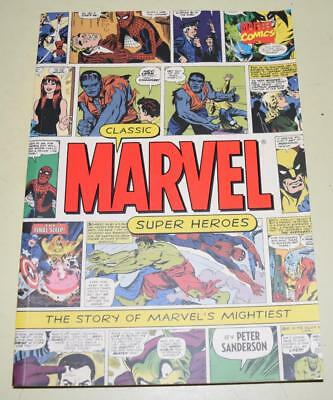 Classic Marvel Super Heroes: The Story of Marvel's Mightiest Comic Book *EXC Con