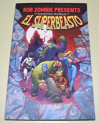 Rob Zombie: The Haunted World Of El Superbeasto Graphic Novel *Excellent Cond*