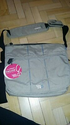 Baba Bing Day Tripper City Deluxe Changing Bag Grey brand new with tags